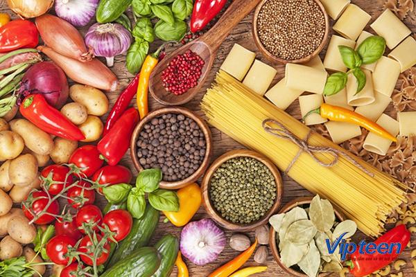 thực phẩm giúp tăng chiều cao ở tuổi dậy thì - chất xơ