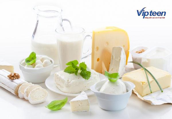 sữa là thực phẩm tăng chiều cao cho bé