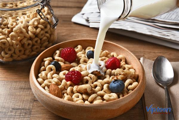 thực phẩm tăng chiều cao cho bé - ngũ cốc