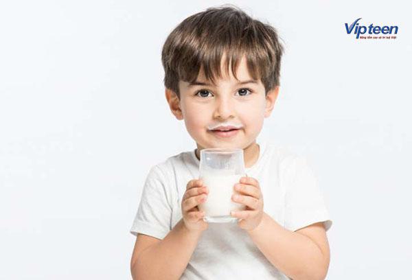 thực phẩm tăng chiều cao cho trẻ - sữa