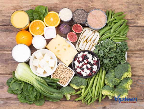 thực phẩm tăng chiều cao cho trẻ - rau dền
