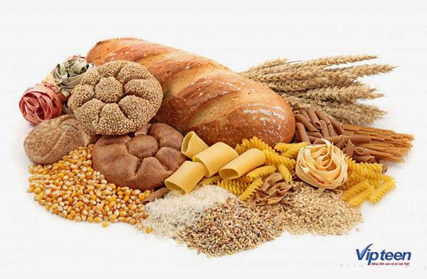 thực phẩm tăng chiều cao cho trẻ - tinh bột