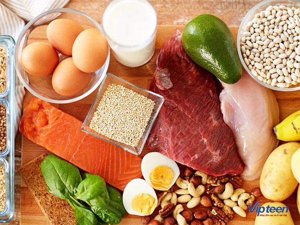 thực phẩm tăng chiều cao cho trẻ - chất đạm