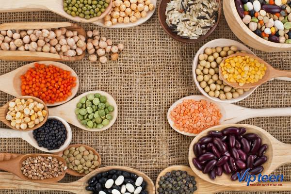 thực phẩm tăng chiều cao cho trẻ chứa nhiều axit amin