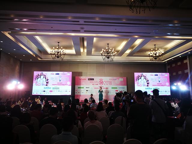Chiều cao số đông thí sinh Chung khảo phía Bắc HHVN 2018 đạt trên 1m7