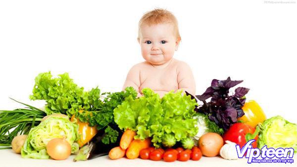 Chế độ dinh dưỡng cần bổ sung cho trẻ chậm mọc răng