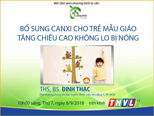 [Bác sĩ tư vấn] - Bổ sung Canxi cho trẻ mẫu giáo tăng chiều cao không lo bị nóng
