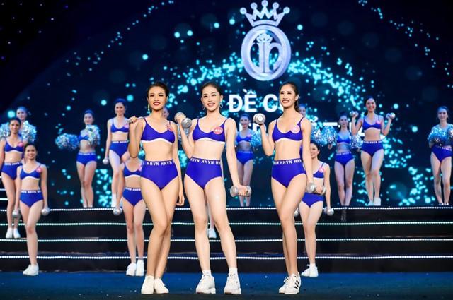 """Công bố danh hiệu """"người đẹp thể thao"""" cuộc thi HHVN 2018"""