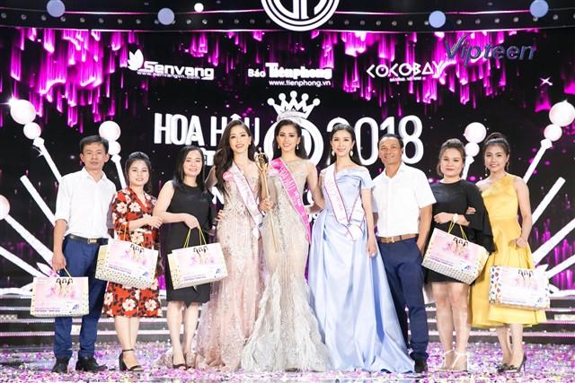 Top 3 Người đẹp Thể thao trở thành Á hậu 1 cuộc thi HHVN 2018