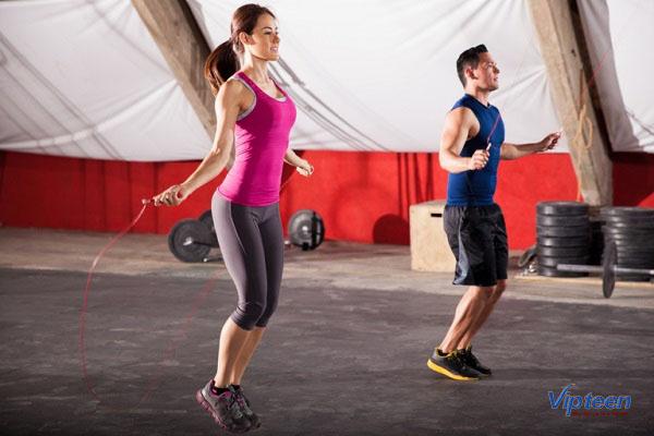 nhảy dây là cách tăng chiều cao ở tuổi 17 nhanh