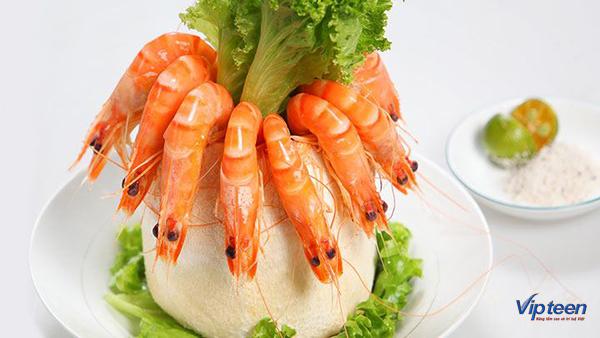 món ăn giúp tăng chiều cao - tâm hấp nước dừa