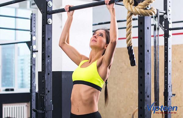 tập gym có tăng chiều cao không - bài tập kéo xà