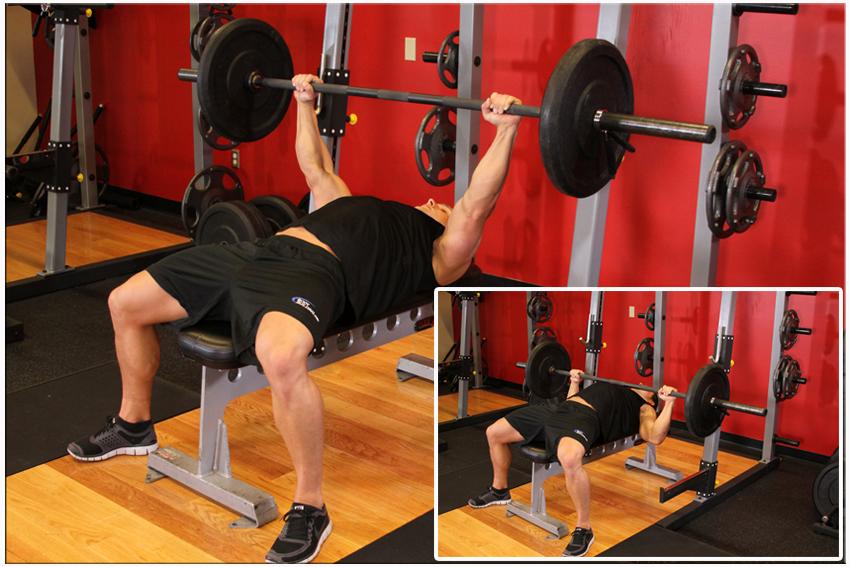 tập gym có tăng chiều cao không - bài tập đẩy tạ ngược