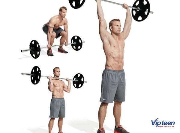 tập gym có tăng chiều cao không - bài tập chân, vai