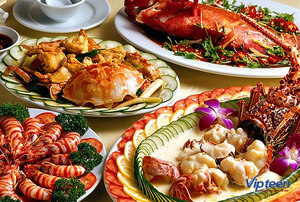 thức ăn giúp tăng chiều cao - hải sản