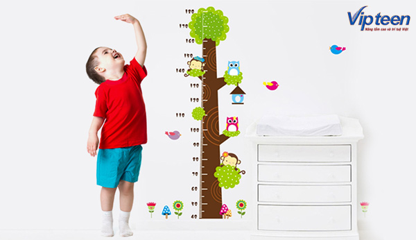 trẻ tăng chiều cao nhanh nhờ canxi