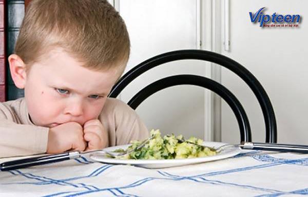 biểu hiện suy dinh dưỡng là chán ăn