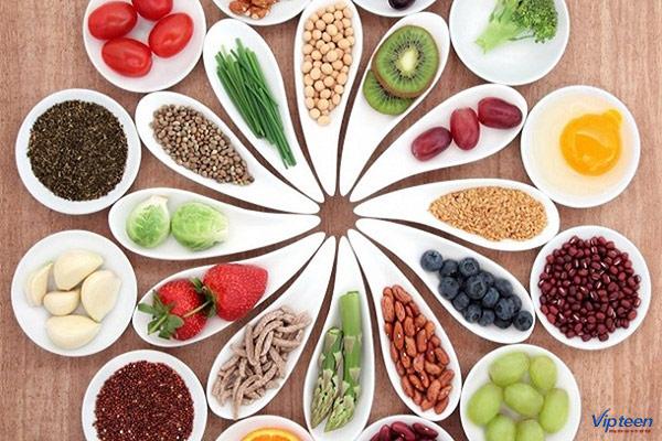 thực phẩm không đủ cung cấp canxi cho cơ thể con người