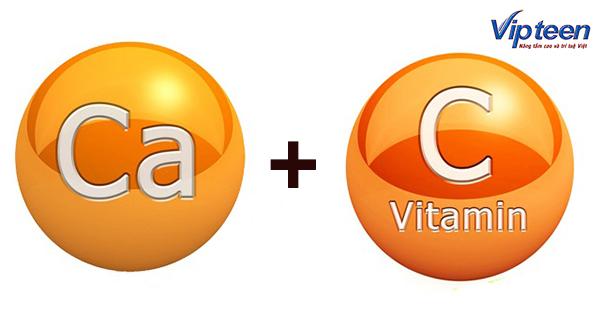 Có nên kết hợp Canxi và Vitamin C?