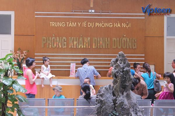 Phòng khám dinh dưỡng Trung tâm y tế dự phòng Hà Nội