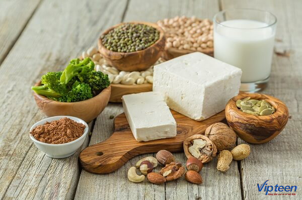 thực phẩm tự nhiên chưa đủ bổ sung canxi
