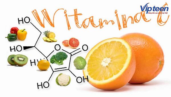 Vitamin C giúp hấp thu Canxi