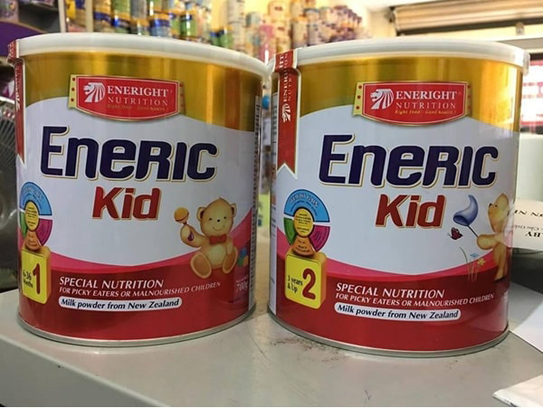Sữa Eneric có giá dao động khoảng 360.000 đồng/ hộp