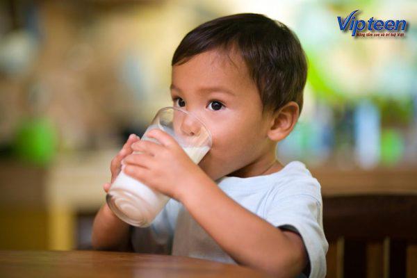 Trẻ còi xương suy dinh dưỡng nên uống sữa gì để phát triển tốt nhất