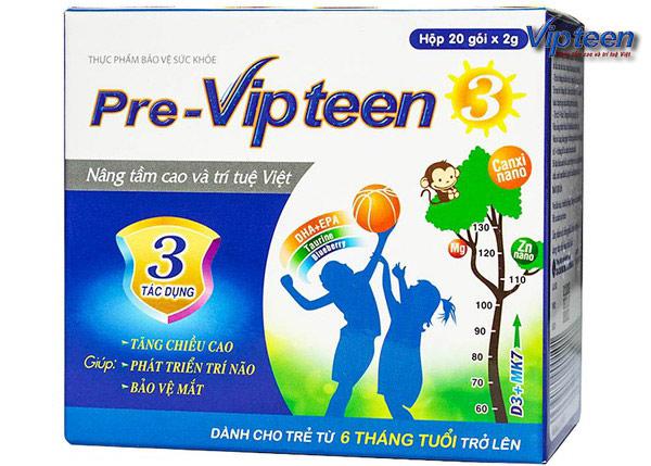 vipteen là thuốc uống hiệu quả cho trẻ còi xương