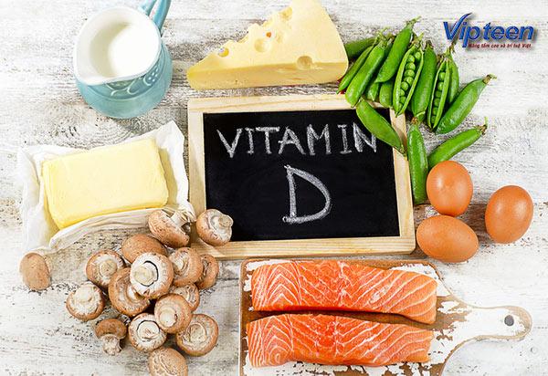 Vitamin D có tác dụng chống còi xương