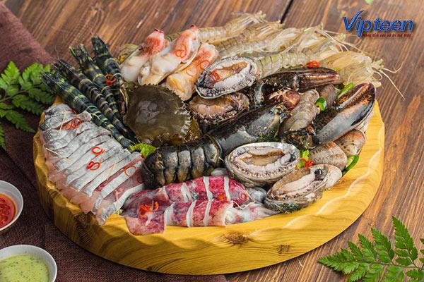 Hải sản chữa còi xương như tôm, cua, cá