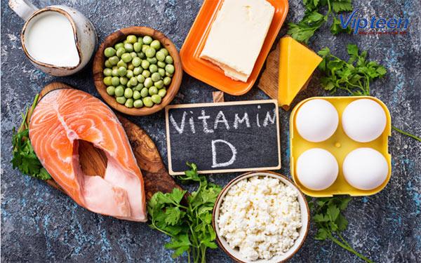 bổ sung thực phẩm giàu vitamin d cho trẻ còi xương