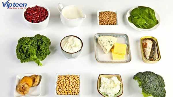 Bổ sung chế độ ăn hợp lý tránh thừa canxi