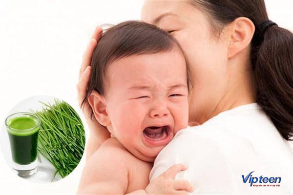 Trẻ có thể quấy khóc để bày tỏ suy nghĩ