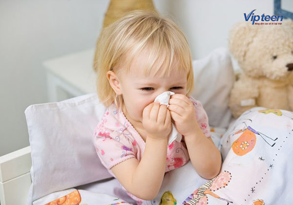 Trẻ bị viêm đường hô hấp