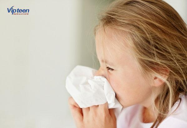 Trẻ bị viêm đường hô hấp trên