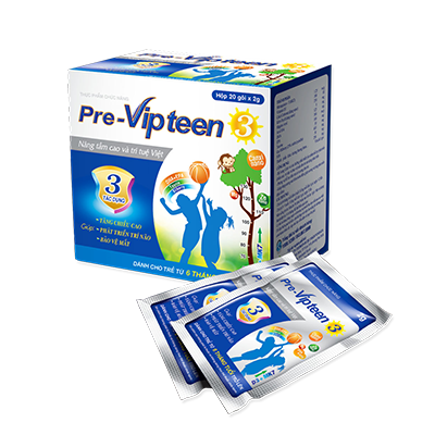 Pre-Vipteen 3 cho trẻ sơ sinh thiếu Canxi