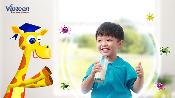 Bổ sung dinh dưỡng giúp trẻ tăng cường sức đề kháng