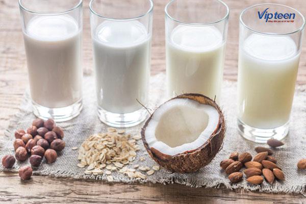 Sữa hạnh nhân - thiếu canxi nên uống sữa gì
