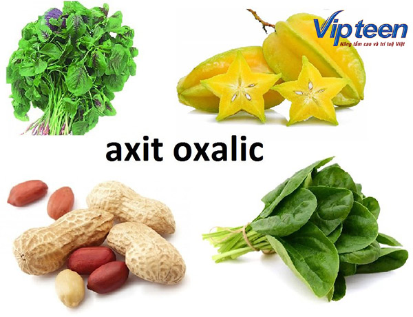 Uống Canxi xong không nên ăn gì? - Hạn chế thực phẩm chứa nhiều axit oxalic, axit phytic, axit béo