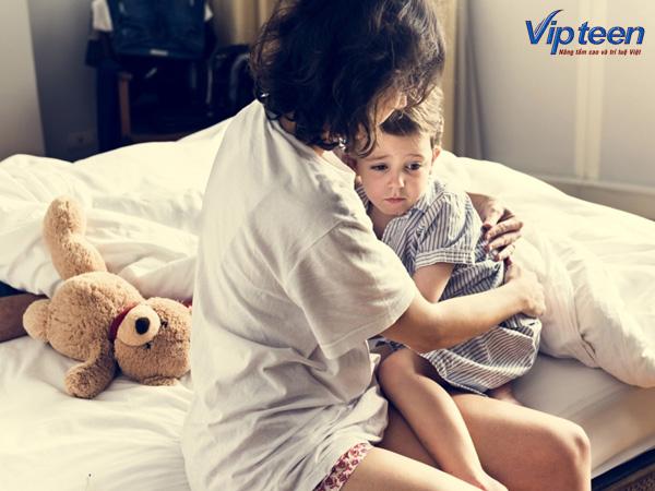 Trẻ khó ngủ do thiếu Canxi
