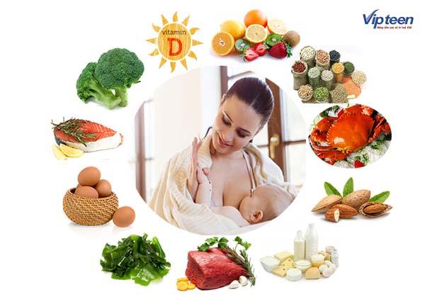 Thực phẩm giàu Canxi cho cả mẹ và bé