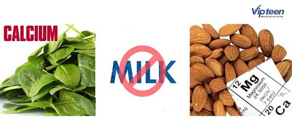 Tránh dùng các loại ngũ cốc thô khi uống Canxi