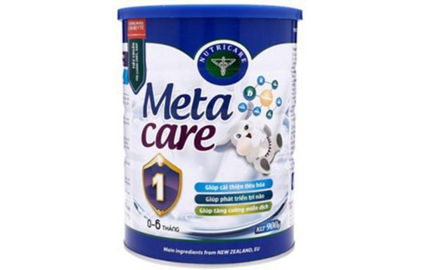 Sữa Meta Care- sữa tăng chiều cao cho bé 1 tuổi