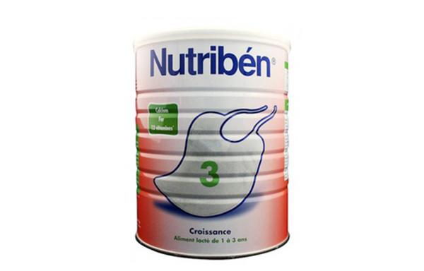 Sữa Nutriben rất giàu sắt