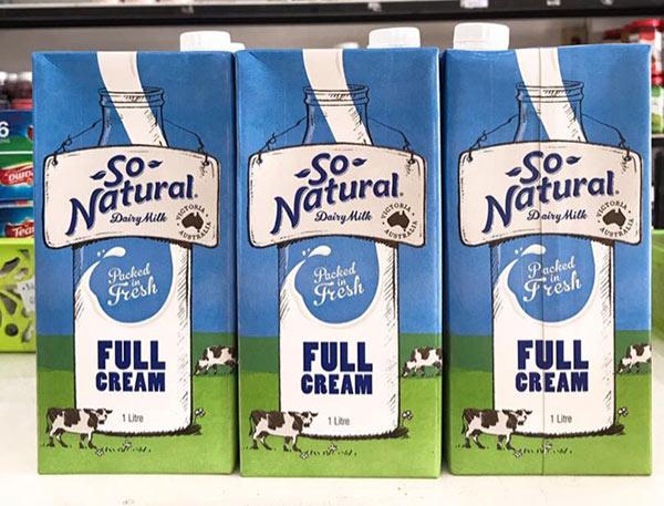 Sữa tăng chiều cao không béo So Natural Nhập Úc