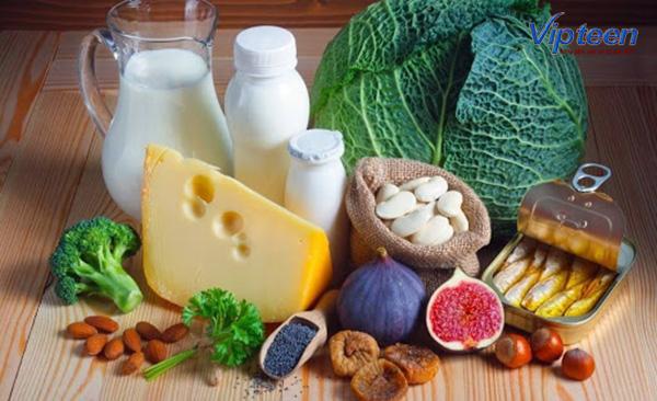 Bổ sung Canxi, Vitamin D, MK7, Phospho để chữa còi xương