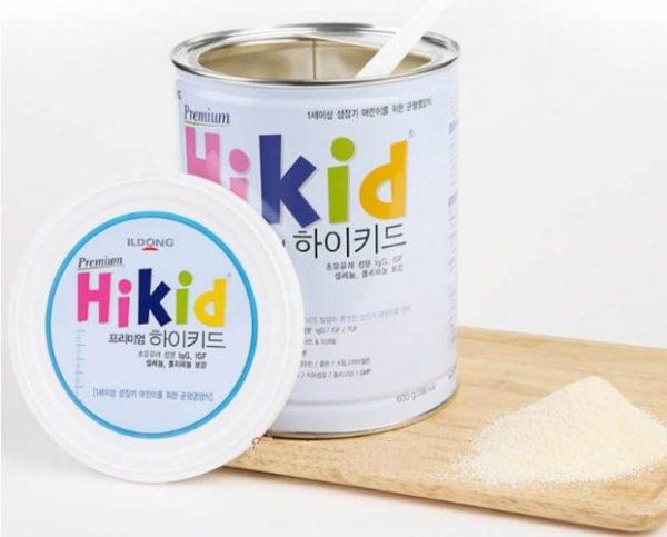 Sữa Hikid Premium tách béo phát triển chiều cao tối ưu