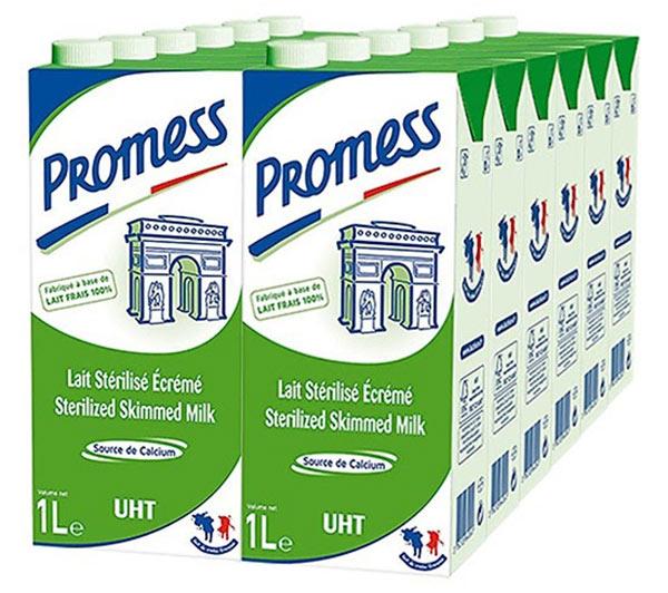 Sữa Tươi Promess Pháp không béo