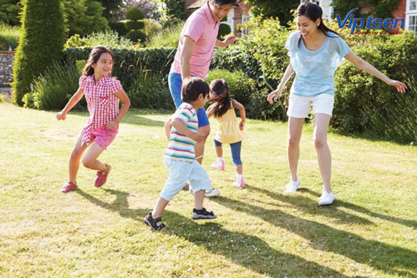 thói quen tập thể thao thường xuyên sẽ tối cho chiều cao của trẻ